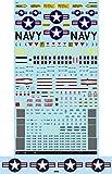 A-48043アシタのデカール 1/48 アメリカ海軍F-14 トムキャット「コーションデータ」[改訂版]