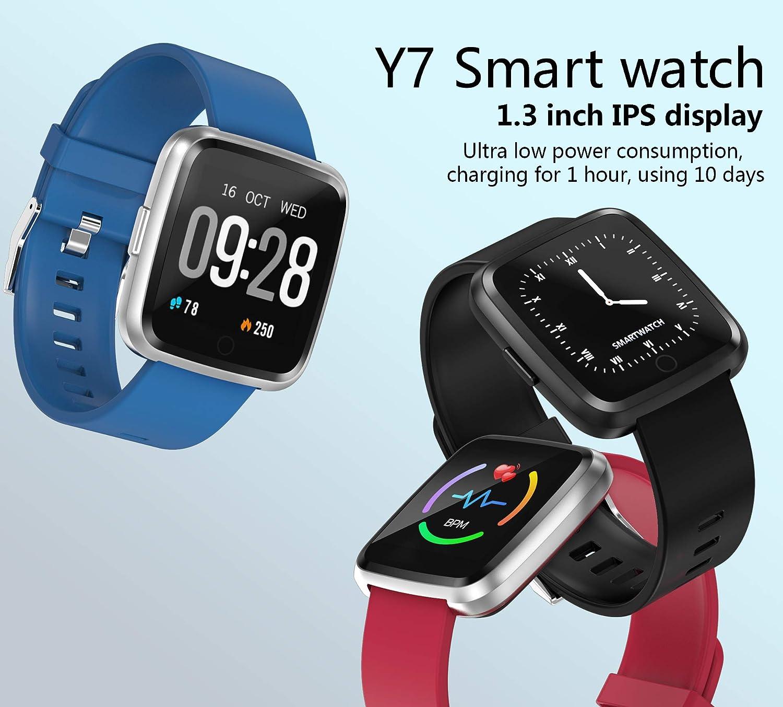 ZeFeng Bluetooth Smartwatch, Sport Fitness Uhr, Fitness ...
