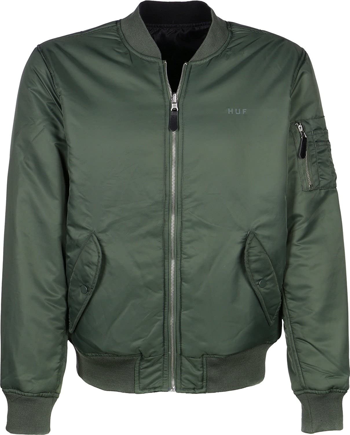 HUF Men's Jacket green Gr眉n