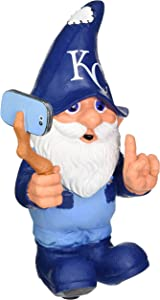 FOCO MLB Kansas City Royals Selfie Gnome
