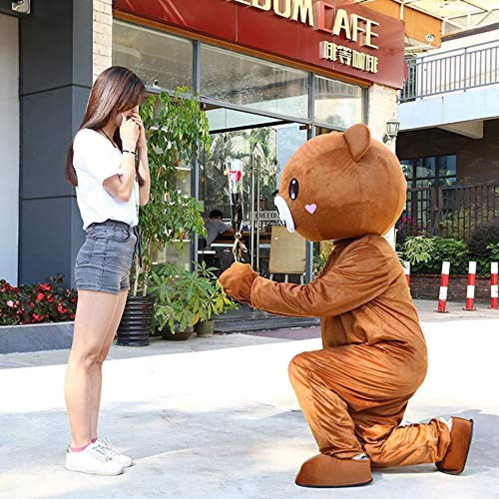 Disfraz de oso chino disfraces de animales de cuerpo completo ...