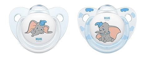Chupete de silicona Nuk Disney Classics Trend Line Dumbo ...