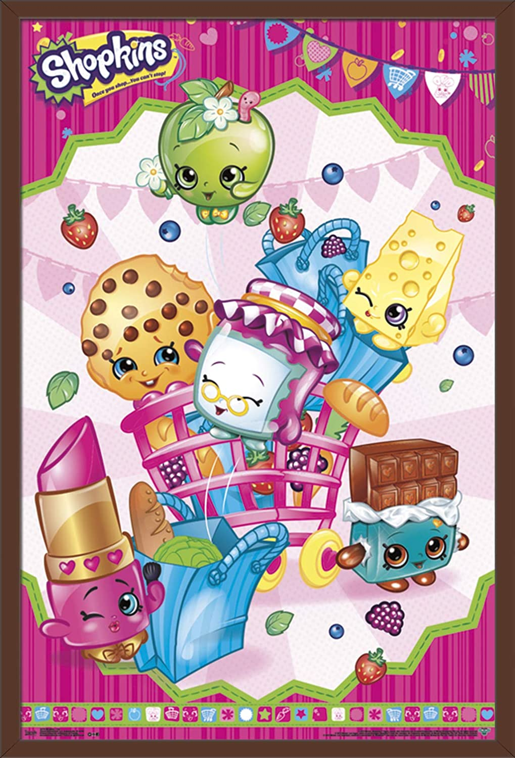 photo relating to Printable Shopkins Posters called Tendencies World-wide Shopkins Wall Poster 22.375\