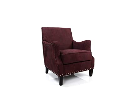 Popular Red Pattern Accent Chair Set