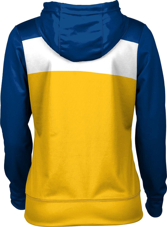University of Wisconsin-Eau Claire Girls Zipper Hoodie Prime School Spirit Sweatshirt