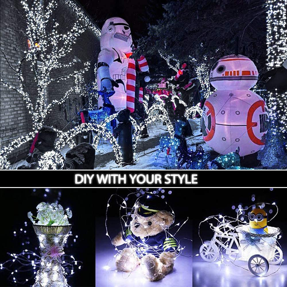 Amazon.com: AXTEE - Guirnalda de luces de hadas, 24 unidades ...