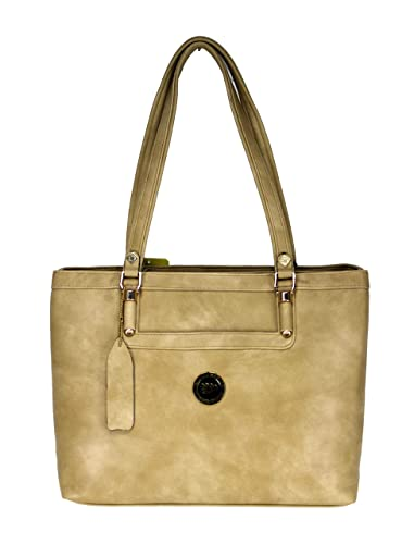 99a71db9dd2c MOOCHIES Stylish Attractive Hand Bag For Ladies Girls (Beige)  Amazon.in   Shoes   Handbags