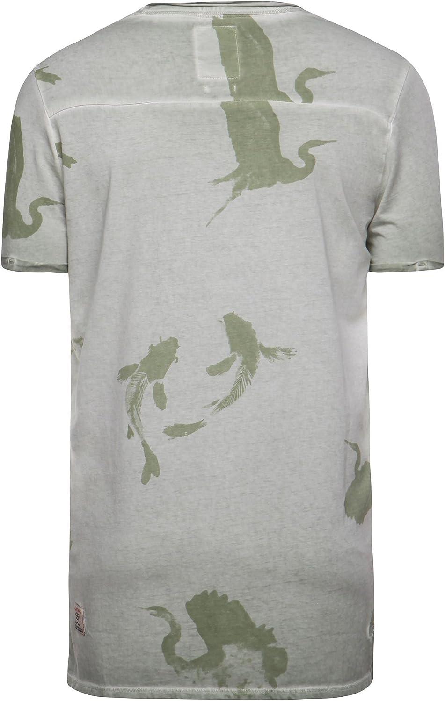 Khujo 2337TS161_322 - Camiseta térmica para Hombre Verde ...