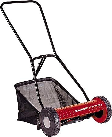 Einhell GC- HM 40 - Cortacesped manual (altura de corte 15-35 mm , ancho de corte 40cm, hasta 250m² de jardín, 27L de capacidad de bolsa) (ref.3414127): Amazon.es: Bricolaje y herramientas
