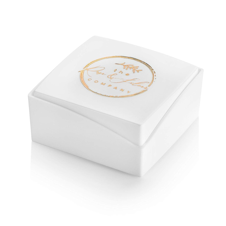 The Rose /& Silver Company Colgante en forma de bomba de ballet con cierre de clip plata de ley 925 RS0367 Tama/ño: 8 mm x 16 mm Incluye caja de regalo