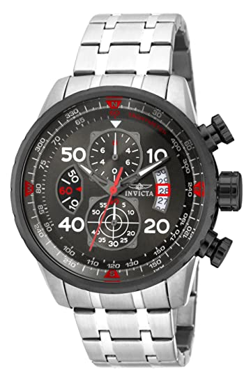 Invicta Men's 17204 AVIATOR Stainless Steel Casual Watch Review