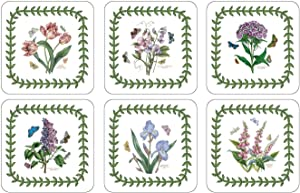 Portmeirion Botanic Garden Coasters, Set of 6