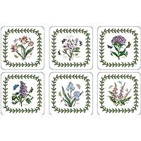 Portmeirion Botanic Garden Coasters, Set of 6