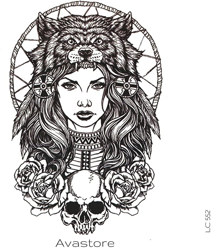 Tatuaje Temporal Mujer Oso tatuaje efímero Mujer Oso – avastore ...