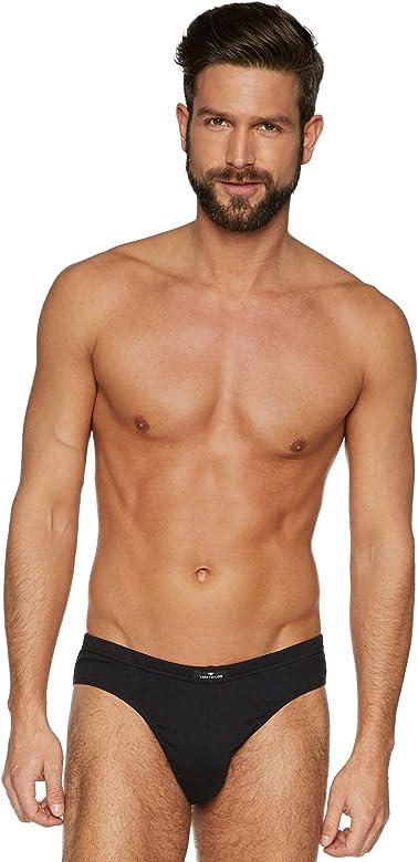 Tom Tailor Mini Slip 5er Pack baño, Negro (Black 9000), Small 5 para Hombre: Amazon.es: Ropa y accesorios