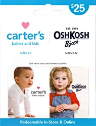 Carters/OshKosh Bgosh Gift Card