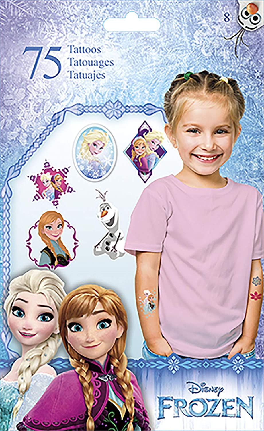 Disney Frozen Temporary Tattoos: Amazon.es: Juguetes y juegos