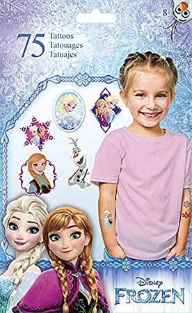 Disney Frozen Temporary Tattoos: Amazon.es: Juguetes y juegos