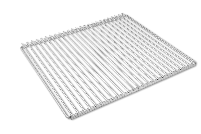Edelstahl Grillrost mit verstellbarer Breite 50-60X45cm aus Europäischem Edelstahl, Verstellbarer Grillrost, Grillrost Ausziehbar