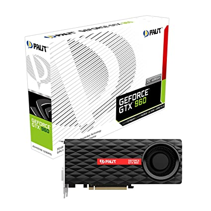 Palit 2 GB Nvidia GTX 960 Maxwell admi Tarjeta gráfica PCI ...