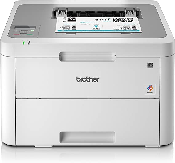 Brother HL-3140CW - Impresora láser color (WiFi, LED), color gris ...