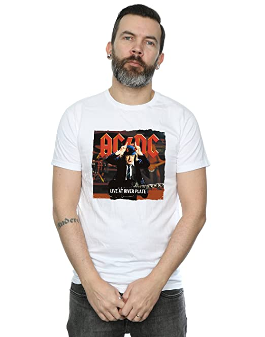 AC/DC Hombre Live At River Plate Columbia Records Camiseta: Amazon.es: Ropa y accesorios