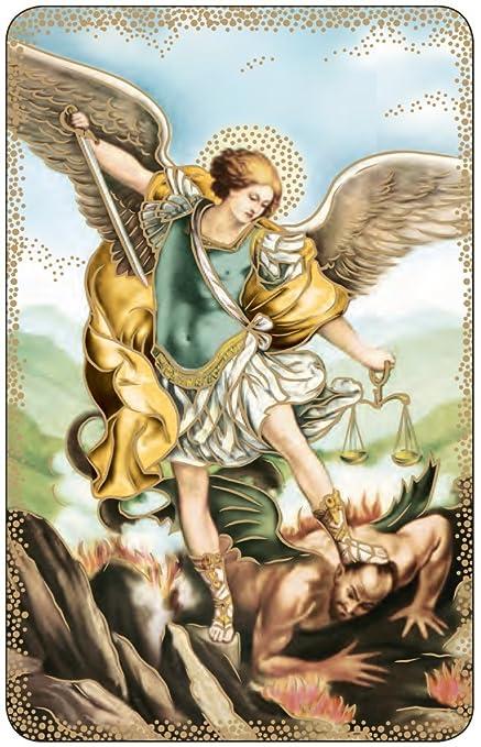 Amazon com : Lot of 10- St  Michael the Archangel Prayer