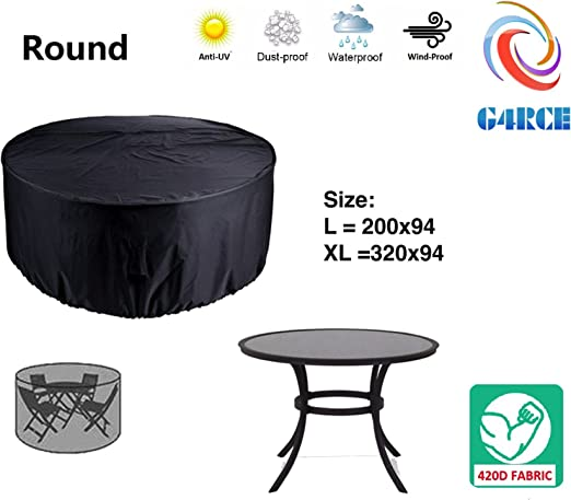 Juego de fundas para muebles de jardín impermeables de G4RCE ...