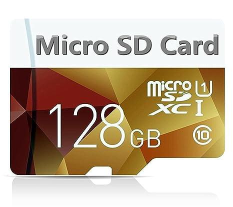 Tarjeta micro SD de 128 GB de alta velocidad, tarjeta SDXC clase 10 con adaptador, de Bondisk