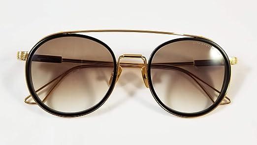 651e504f2 نظارة شمسية بتصميم افياتور من فيراري لكلا الجنسين - اطار بلون ذهبي، عدسات  بلون بني