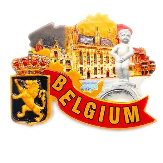 Niño urinario Yulian Bruselas Bélgica Refrigerador 3D Imán de ...