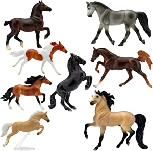 Breyer Stablemates Wild at Heart Horse Toy Set (6058)
