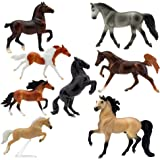 "Breyer Horses Stablemates Deluxe Horse Collection | 8 Horse Set | Horse Toy | Horse Figurines | 3.75"" x 2.5"" 
