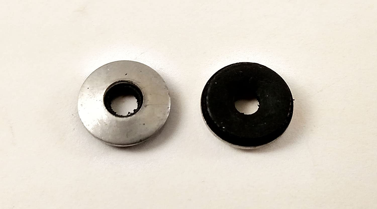 #14 Neoprene EPDM Bonded Sealing Washers Stainless Steel 18-8, Neo Bond, 100 Pieces (#14 Neobond Washer 18-8)