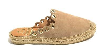 KANNA SOHER Chaussures spécial Piscine et Plage pour Femme Beige Taupe - Beige - Taupe, 39 EU EU