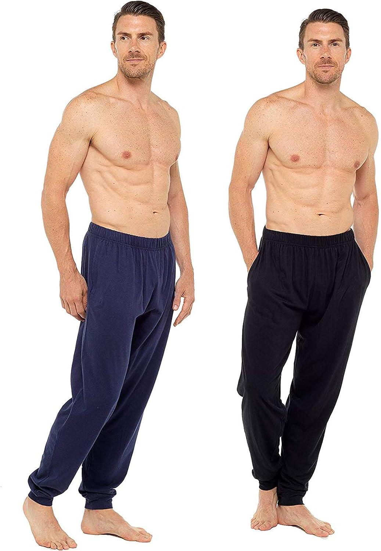 CityComfort Pantaloncini da Uomo Pacco Doppio Pantaloncini Corti Confezione da Due Shorts in Cotone con Vita Elasticizzata Pigiama Uomo Corto Pigiami per Uomo in Cotone