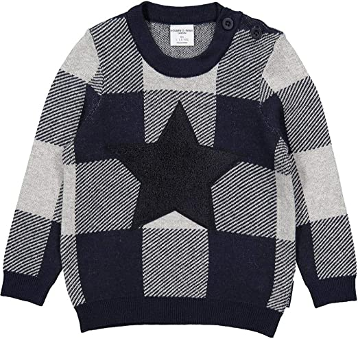 Pyret Basket Weave Pullover Sweater Baby Polarn O