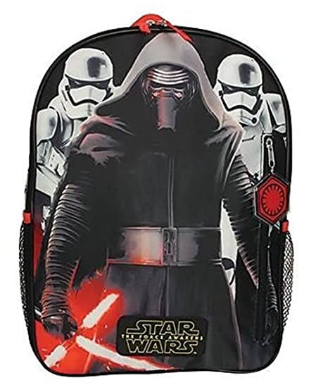 f1c0422f6f0 Image Unavailable. Image not available for. Color  Disney Star Wars Total  Power Backpack ~ The Force Awakens Featuring Kylo Ren   Stormtroopers