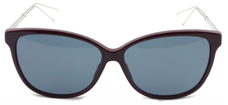 d5ceec6b2ee78 Amazon.com  Christian Dior Confident 2 S Burgundy Palladium Frame   Blue  Lens (0LMN)  Clothing