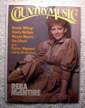 Reba Mcentire Country Music Magazine Julyaugust 1986 No