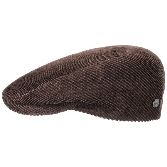 30b96400f708 Lierys Casquette Cordial Plate Bonnets en Velours (49 cm - Marron)