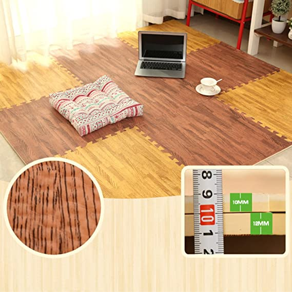 MORBIDA schiuma EVA ad incastro Kids strisciare tappeto di gioco Pavimento palestra esercizi yoga Mats 10mm