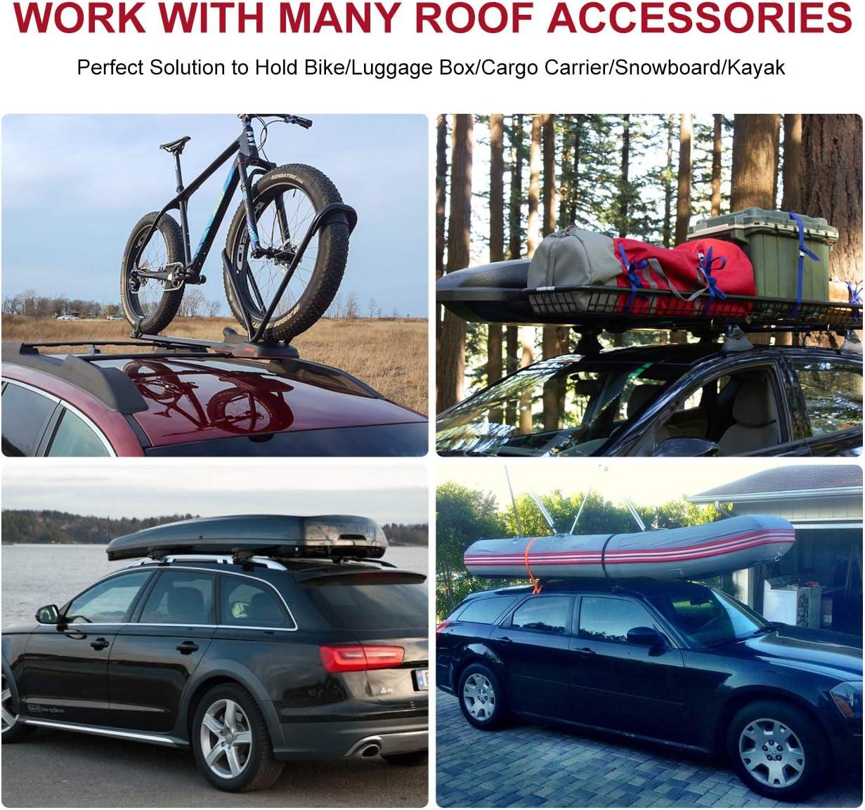 Factory Side Rails Needed ALAVENTE Roof Rack Crossbars for Mazda CX-5 2017 2018 2019 Luggage Roof Rack Rail Cross Bar Mazda CX-5 CX5 2017-2019