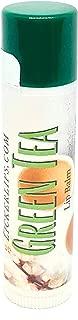 product image for Lick 'er Lips Lip Balm | Moisturizing Beeswax Cocoa Shea Butter Jojoba Hemp Avocado Castor Oil with Vitamin E | 1 Tube (4g) (Green Tea)