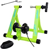 unisky Bike Trainer Stand Indoor Exercise Bicycle Training Stand Magnetic Riding Stand for Mountain & Road Bike