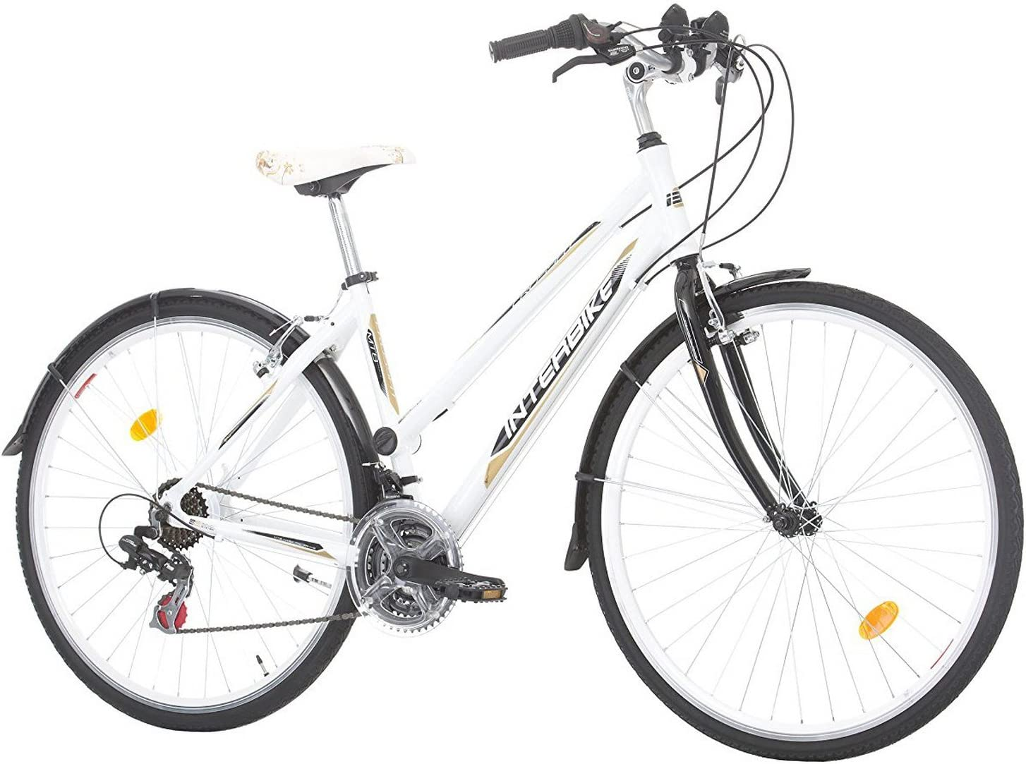 Interbike Bicicleta de Paseo Crossfit para Mujer Ruedas de 28 ...