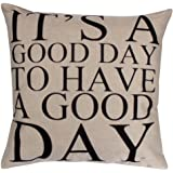 Vovotrade Square Pillow Cover Case Coussin Fermeture Toss Taie Invisible Zipper