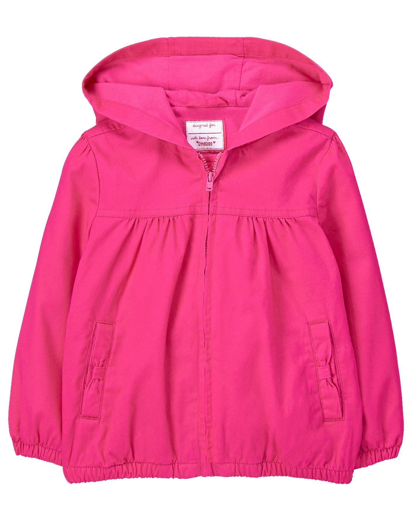 Gymboree Toddler Girls' Utility Jacket, Turquoise Bliss, 2T