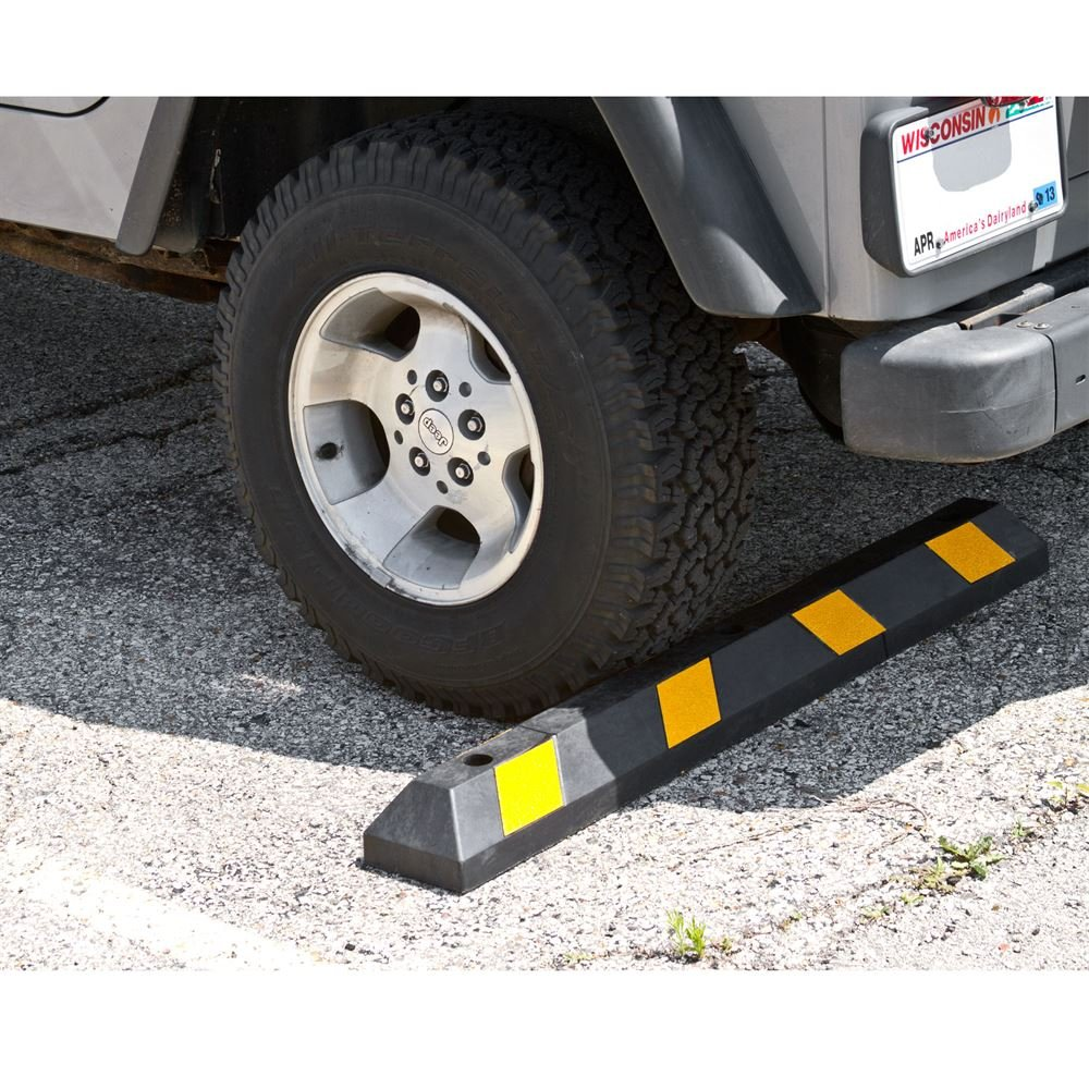 Guardian DH-PB-9 Heavy Duty Rubber Parking Curb-48 Long by Guardian (Image #6)