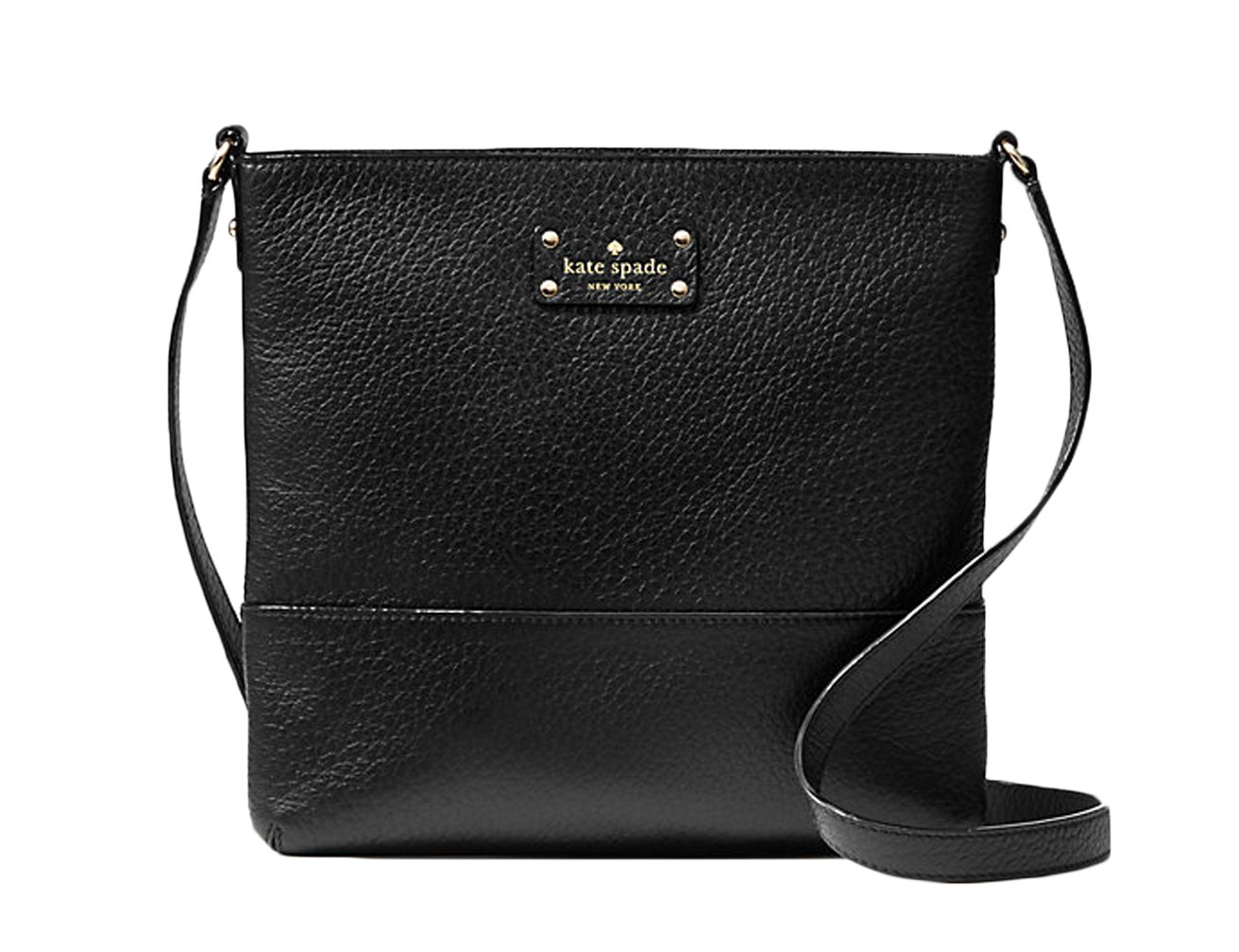 Kate Spade New York Bay Street Cora Cross-body Handbag (Black) by Kate Spade New York
